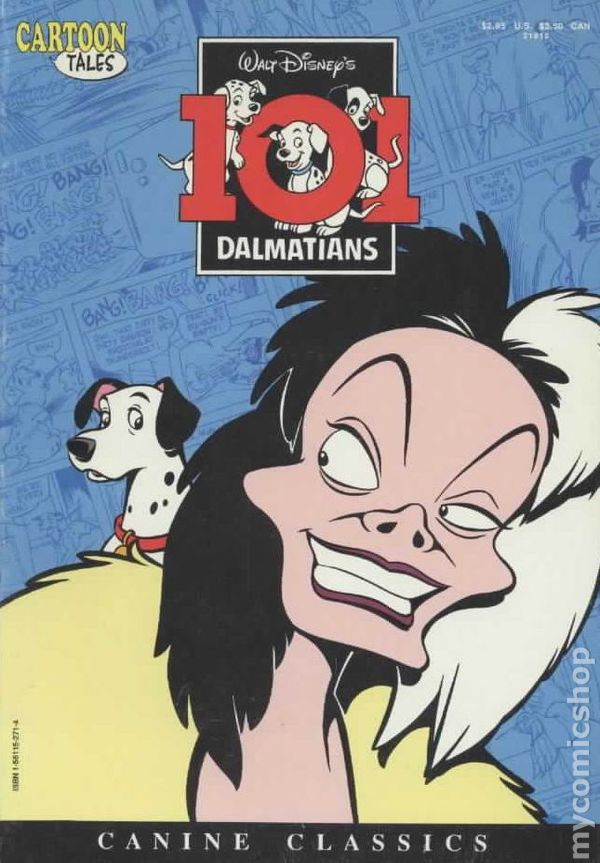 cartoon tales 101 dalmatians 1992 comic books