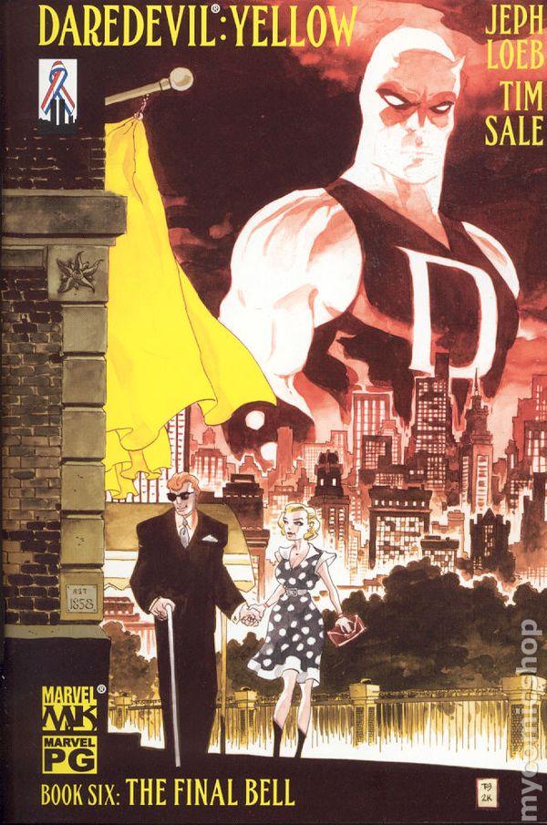 daredevil yellow  2001  comic books