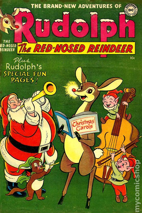 rudolph the red nosed reindeer 1950 comic books