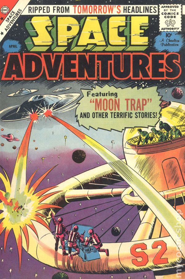 Space Adventures (1952 1st series) comic books