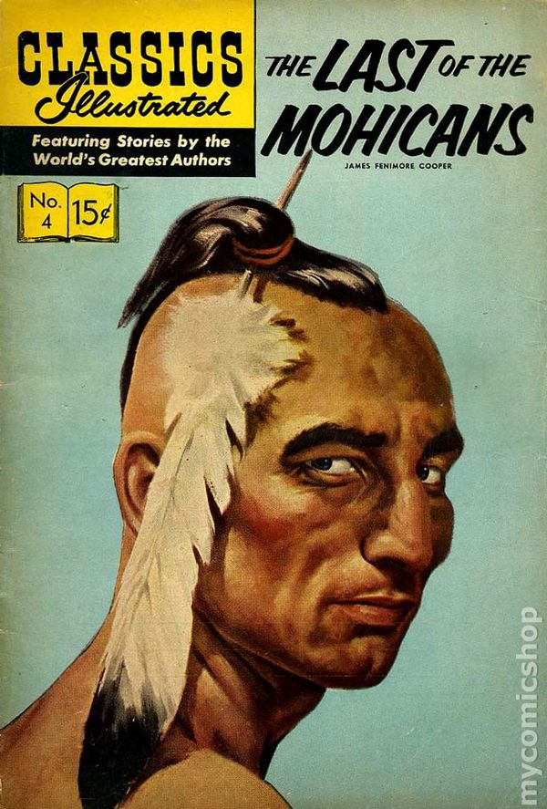 Classics Illustrated 004 The Last of the Mohicans (1942