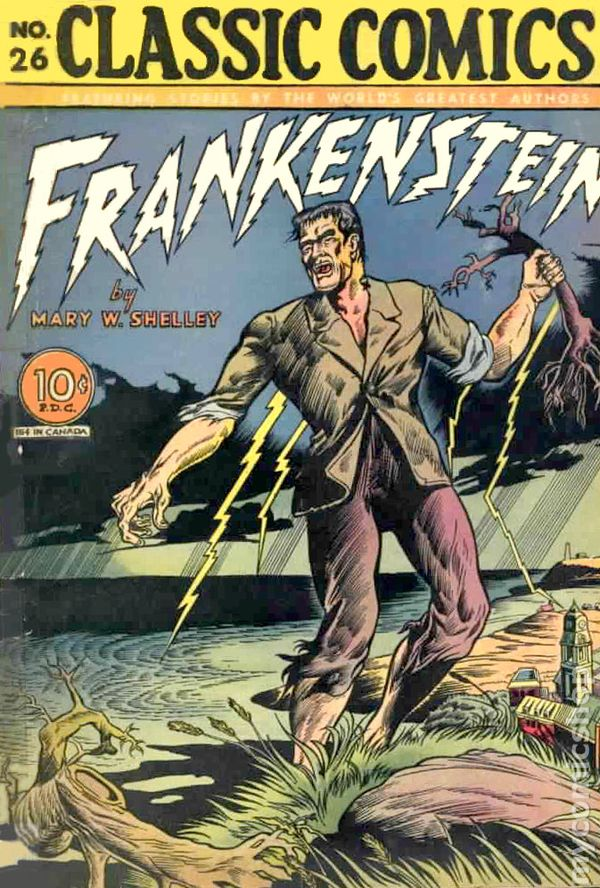 what is scary in frankenstein essay