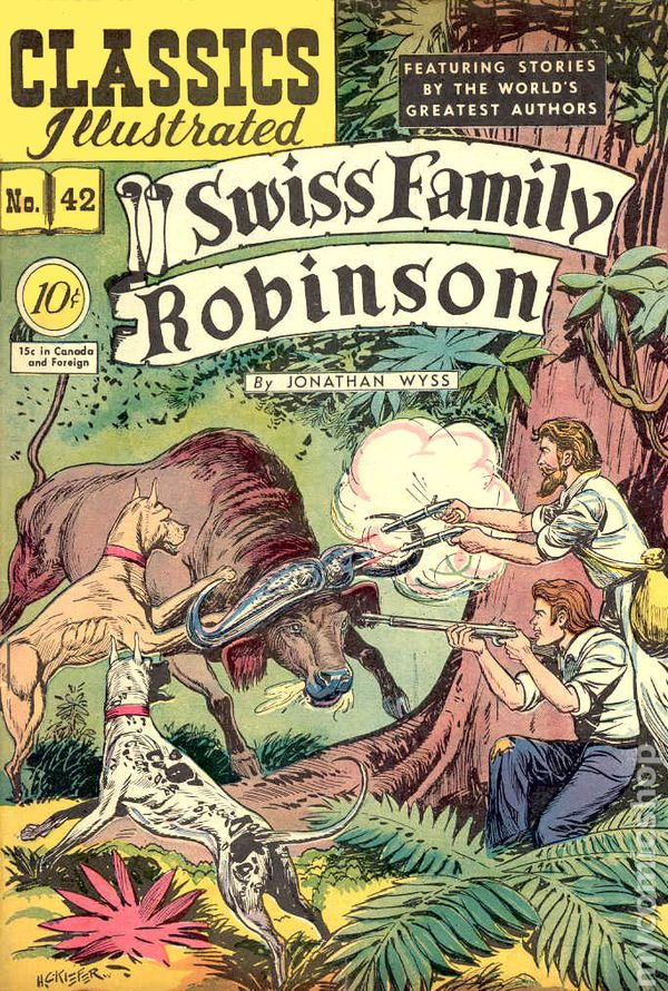 swiss family robinson book report Read along with your child as he goes on an adventure with the swiss family robinson this optional teacher edition includes teaching tips for the parent and goals.