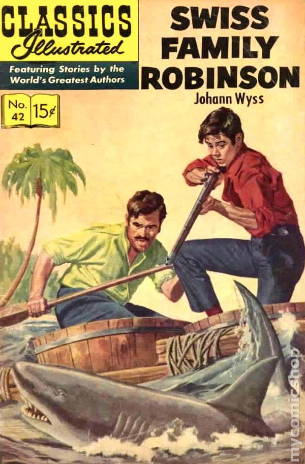 swiss family robinson book report Even if you don't remember reading the swiss family robinson, by johann wyss, you probably remember seeing the.