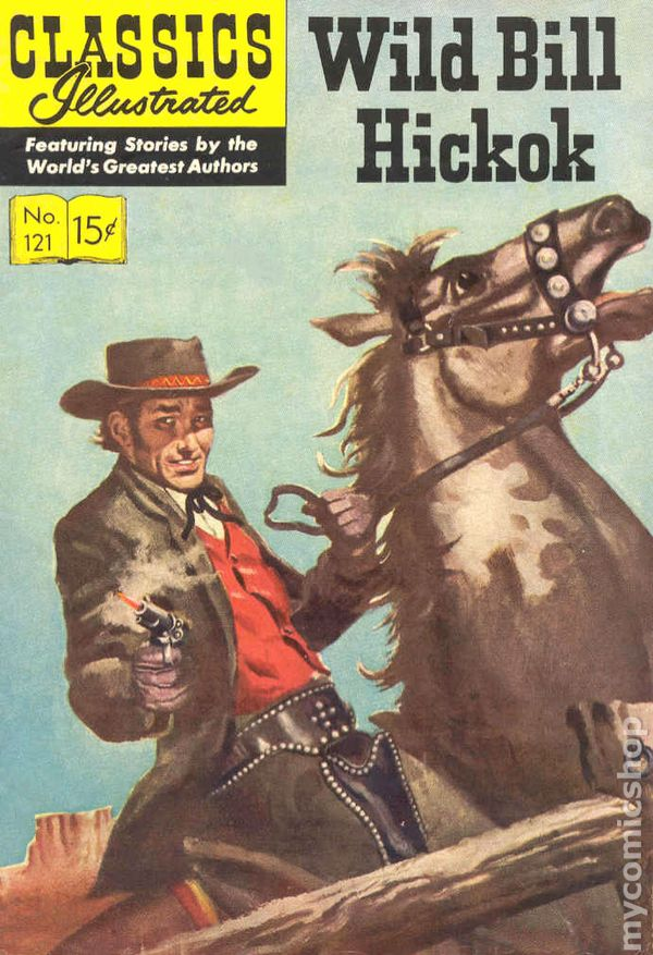Image result for wild bill hickok comic book