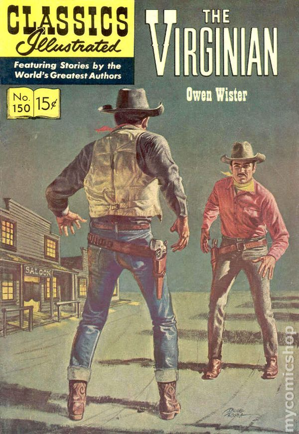 Image result for the virginian comic book