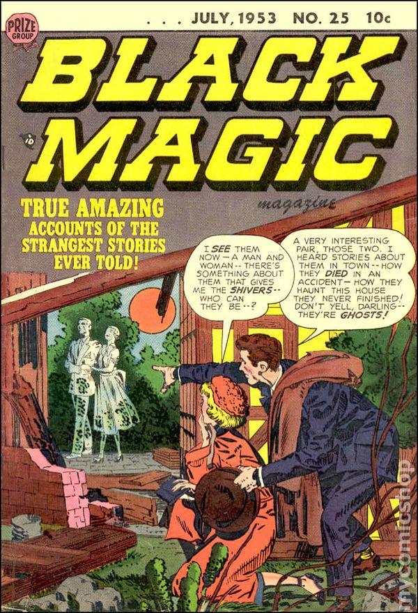 black magic vol 4 1954 comic books