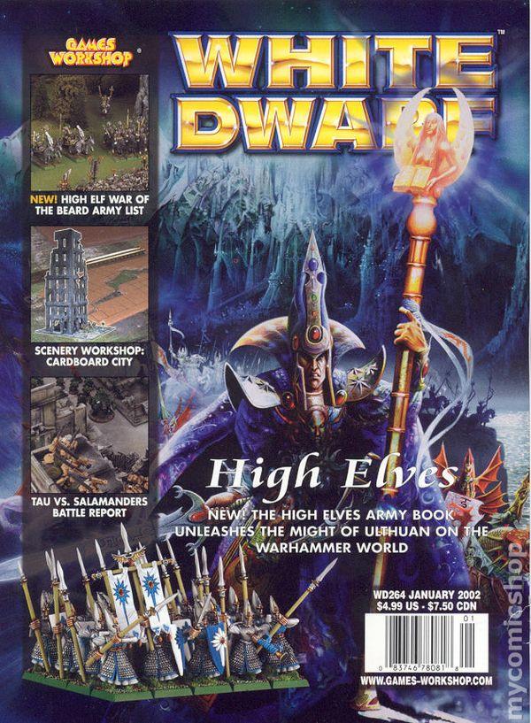 White Dwarf (1977-Present Games Workshop Magazine) comic