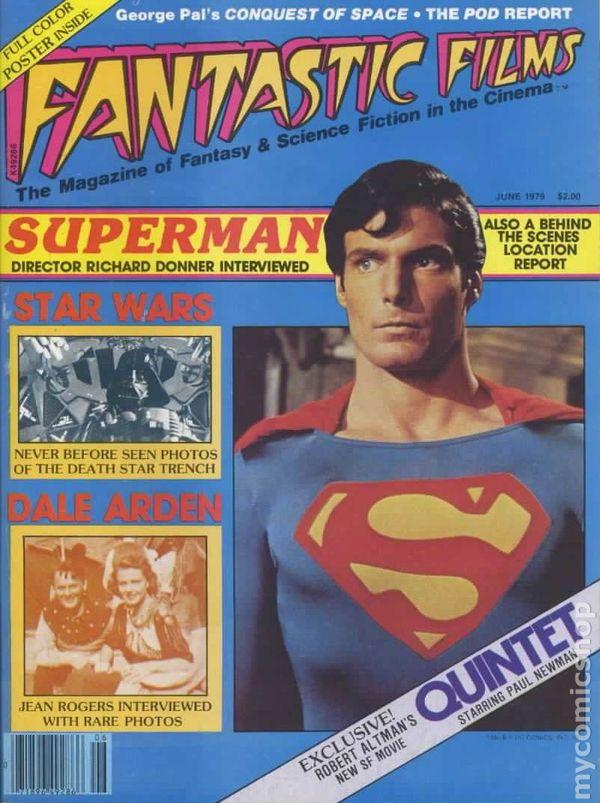 Fantastic Films (1978) comic books