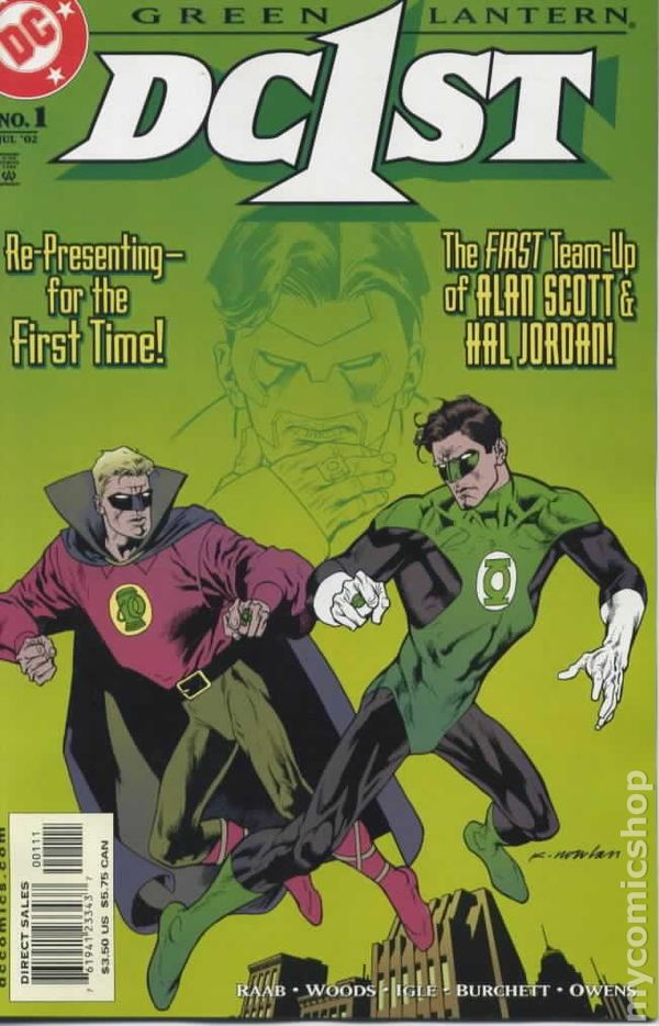 dc first green lantern green lantern 2002 comic books
