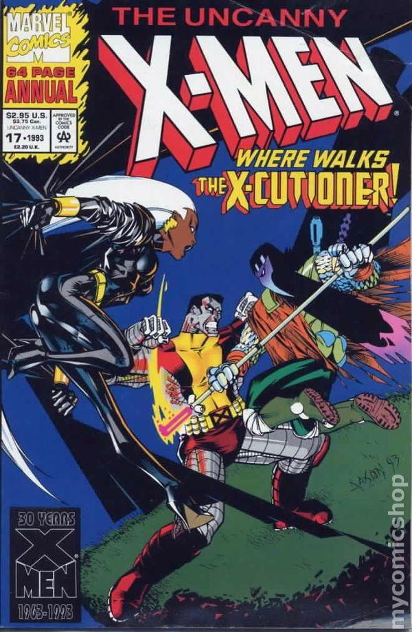 X Men Comic Books Issue 17
