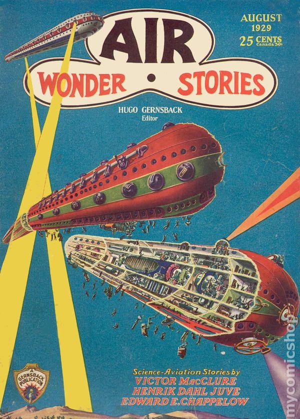 air wonder stories  1929