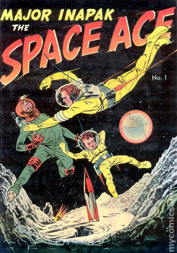 Major Inapak the Space Ace (1951) comic books