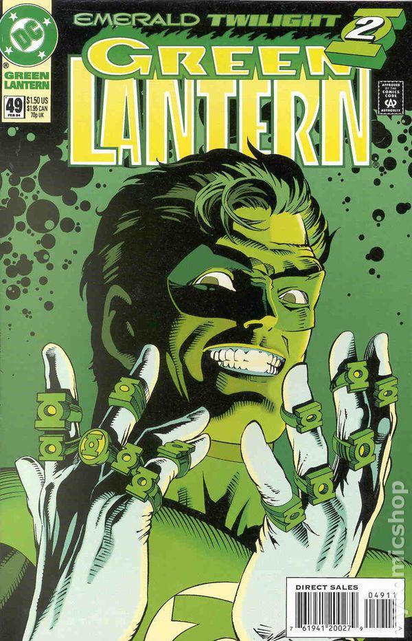 Comic Books In Green Lantern Emerald Twilight