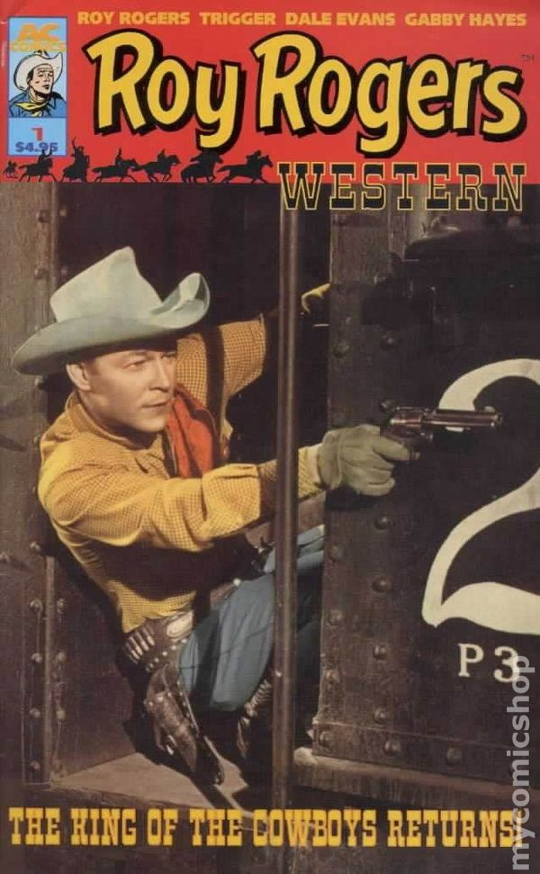 Roy Rogers Comic Books Issue 1