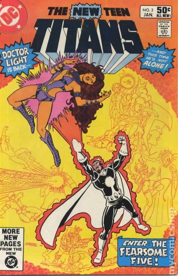 NEW TEEN TITANS #37 VERY FINE// NEAR MINT 1980