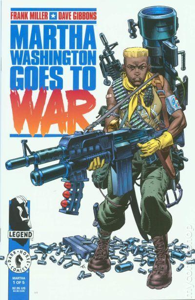 martha washington goes to war 1994 comic books