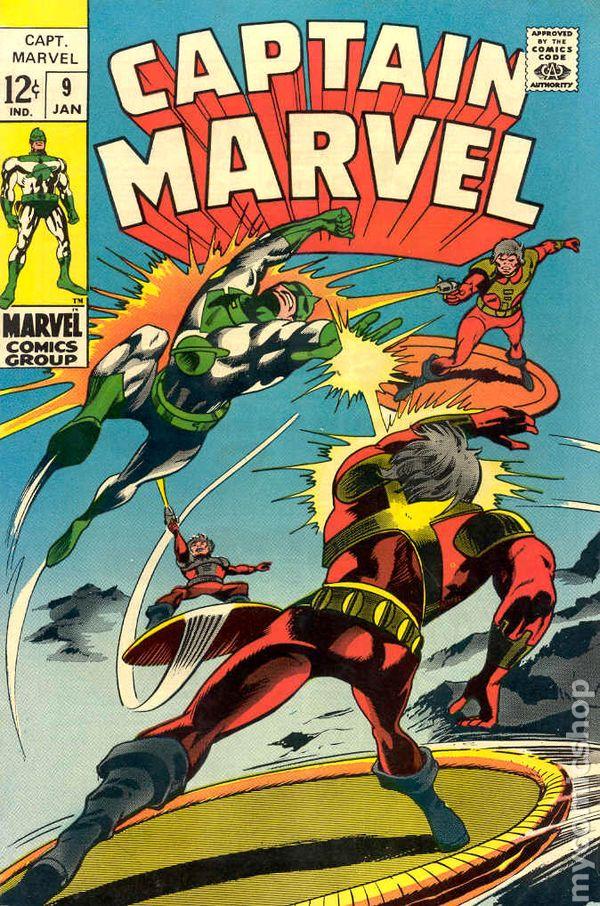 Captain Marvel (1968 1st Series Marvel) comic books