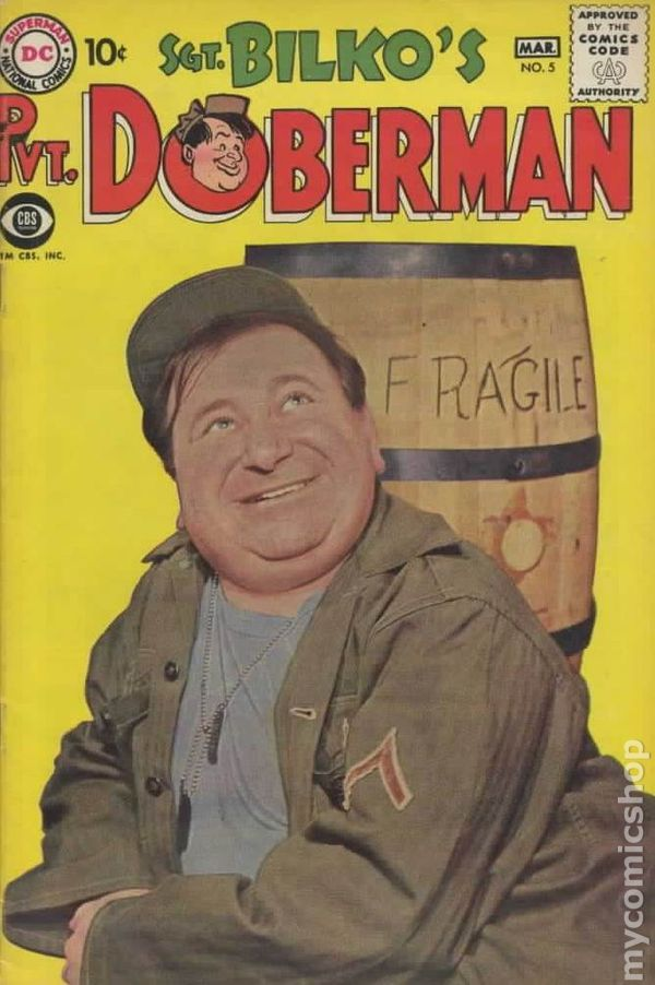 sgt  bilko u0026 39 s pvt  doberman  1958  comic books