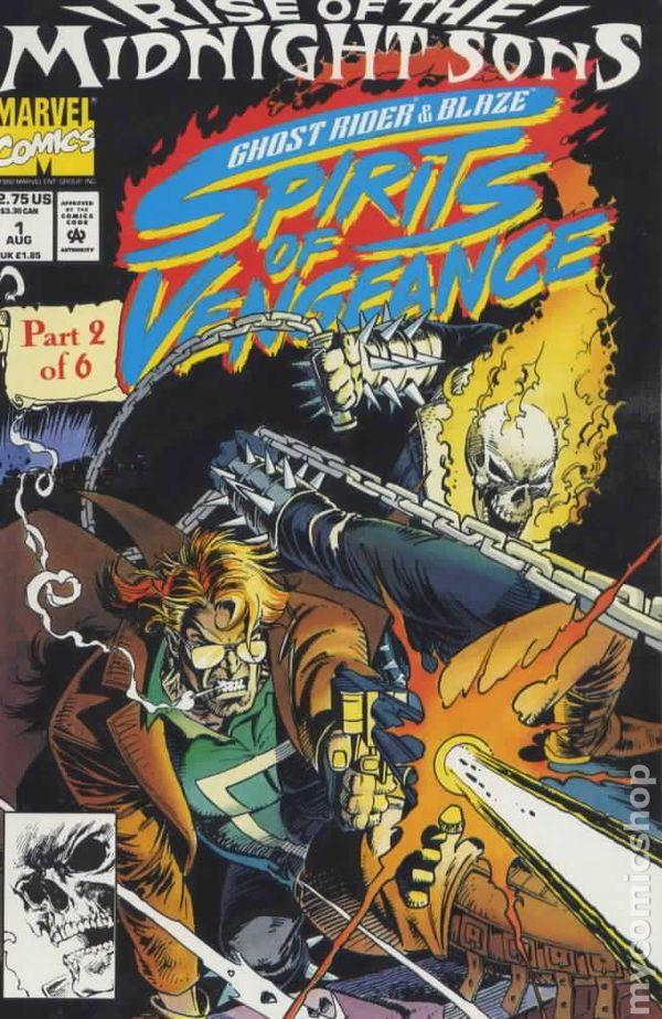 Morbius Marvel >> Ghost Rider Blaze Spirits of Vengeance (1992) comic books