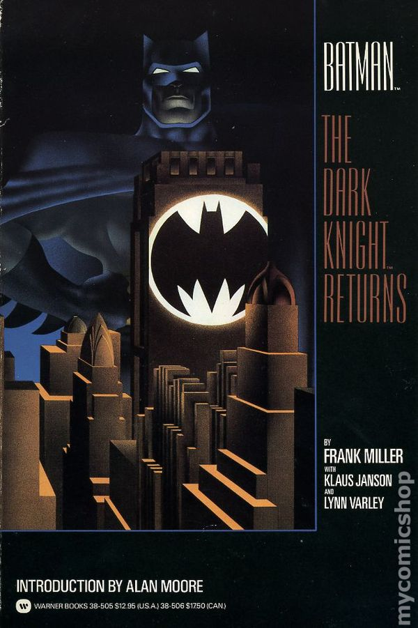 Image result for dark knight returns book cover