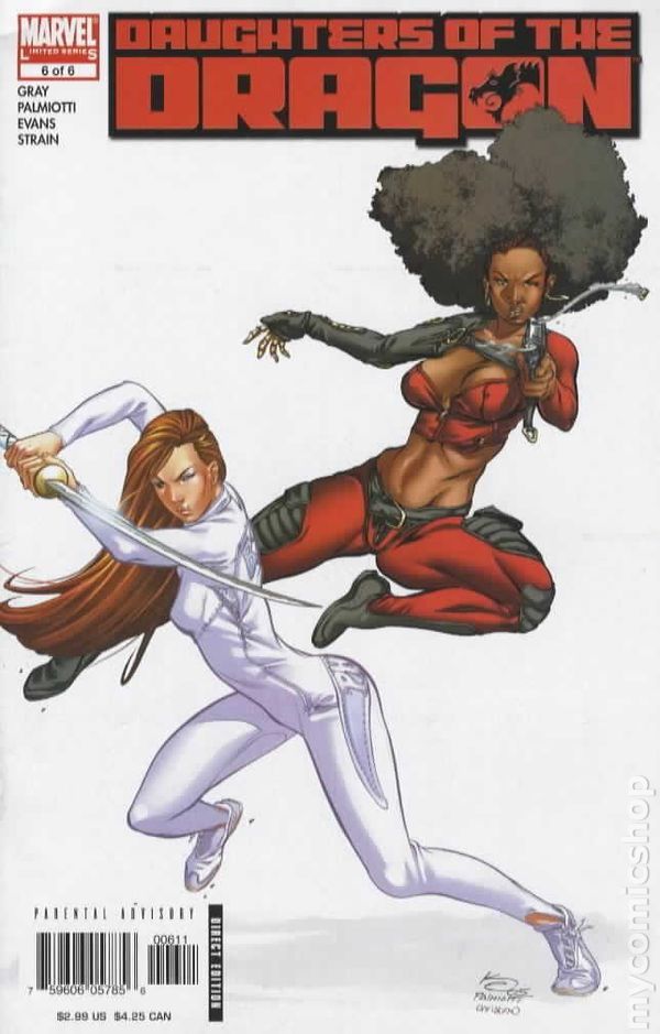 Daughters of the Dragon #1 March 2006 Marvel Comics Gray Palmiotti Evans