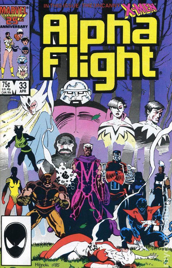 Alpha Flight #13 FN 1984 Stock Image