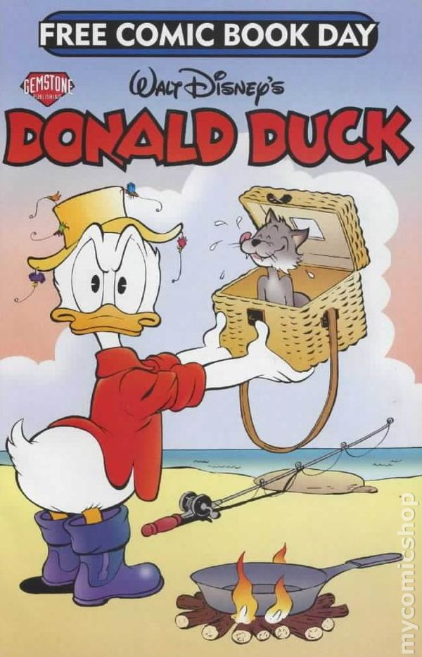 donald duck 2006 fcbd comic books. Black Bedroom Furniture Sets. Home Design Ideas