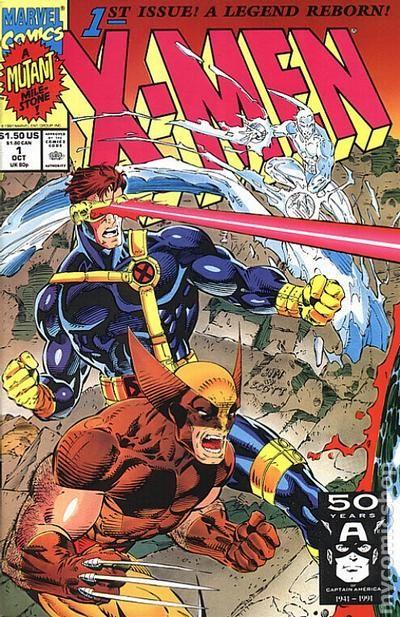 X Men 1991 1st Series 1c