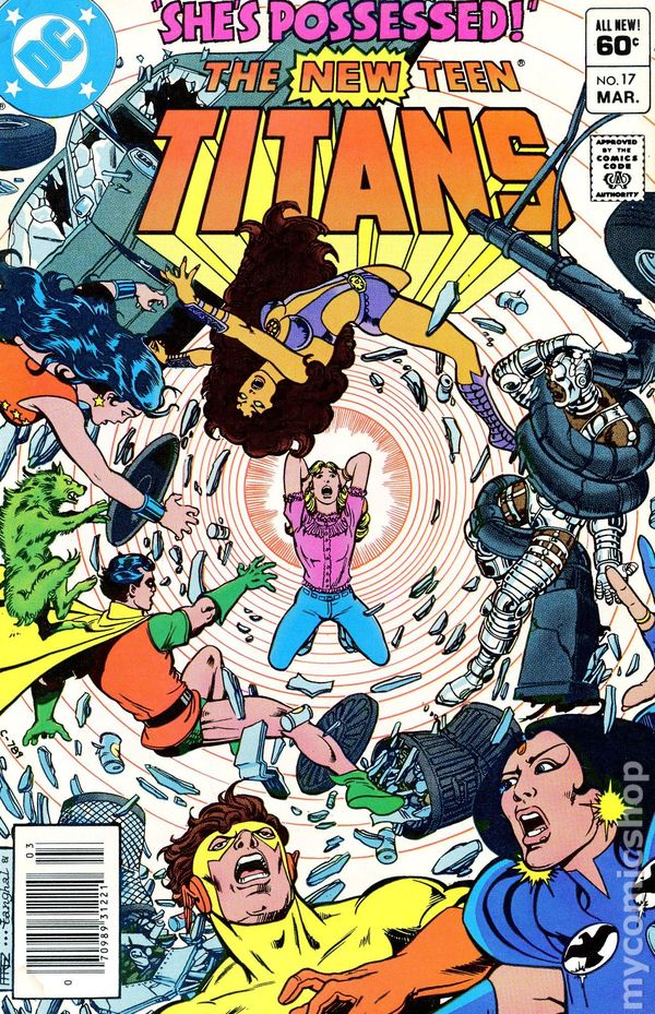 new teen titans  1980   tales of      comic books