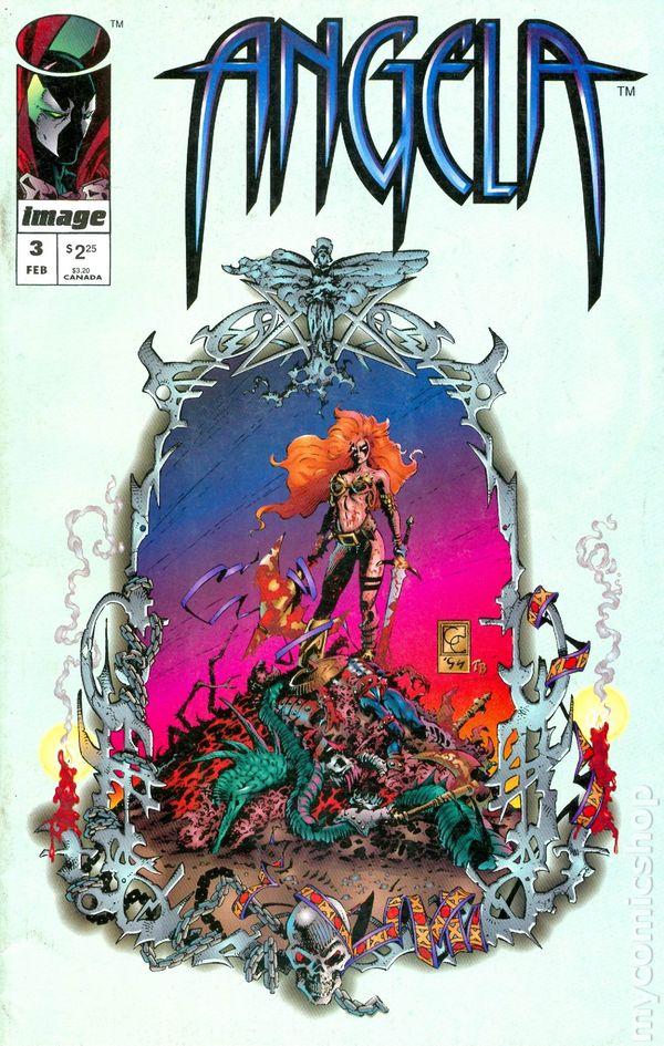 angela 1994 comic books