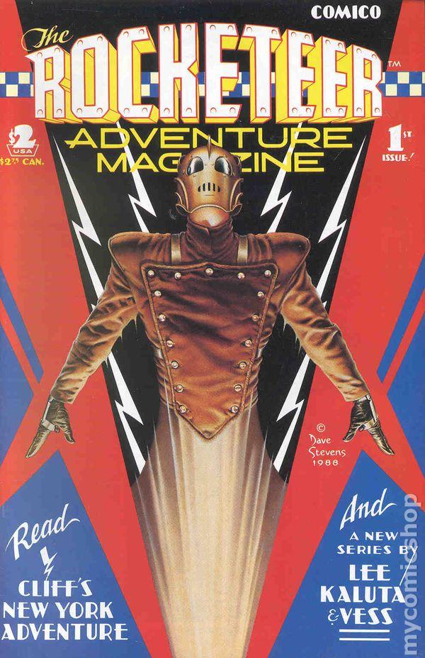 Rocketeer Adventure Magazine 1988 Comic Books