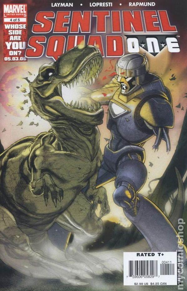 Sentinel Squad One Free Domestic Shipping Marvel 2006 X-Men #179