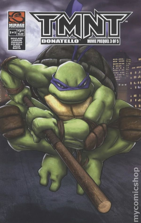 Tmnt Movie Prequel 2007 Mirage Comic Books