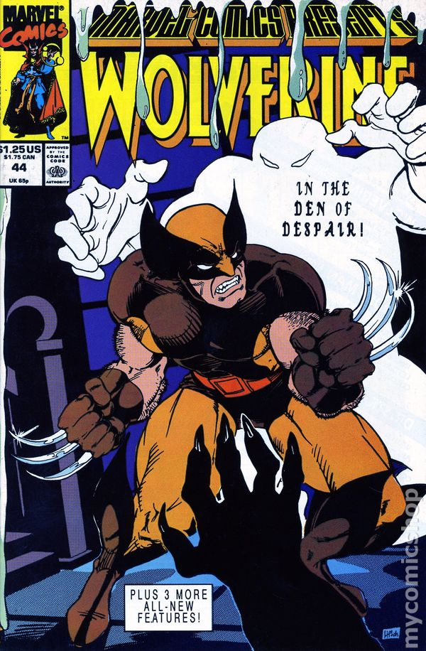 Marvel Comics Presents 1988 series # 48 very fine comic book