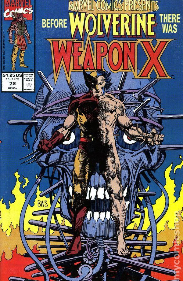 1991-9.4 COMIC MARVEL COMICS PRESENTS   # 81