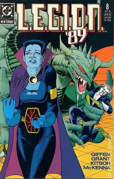 legion  1989 1st series  comic books