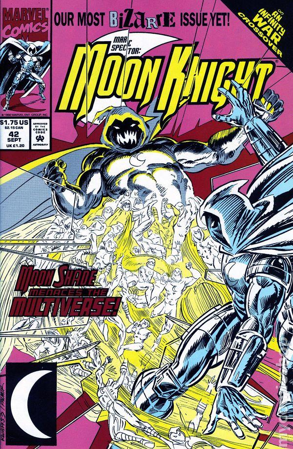 MOON KNIGHT #40 VERY FINE// NEAR MINT 1st SERIES 1989 MARC SPECTOR