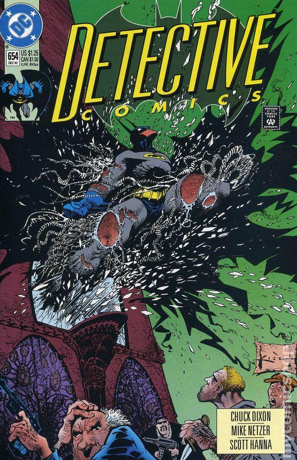 Detective Comics #688 August 1995 DC Comics Batman Dixon Nolan Hanna