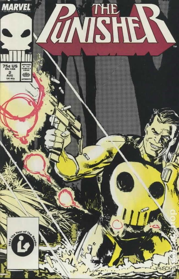 The Punisher #8 Marvel Comics 1987, 2nd Series Very Good