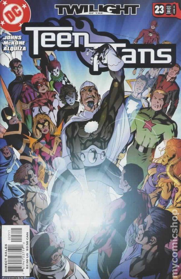 Teen Titans 2003-2011 3Rd Series Comic Books-3207