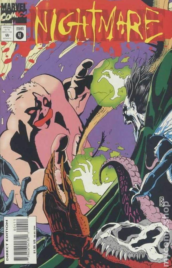 nightmare 1994 marvel comic books
