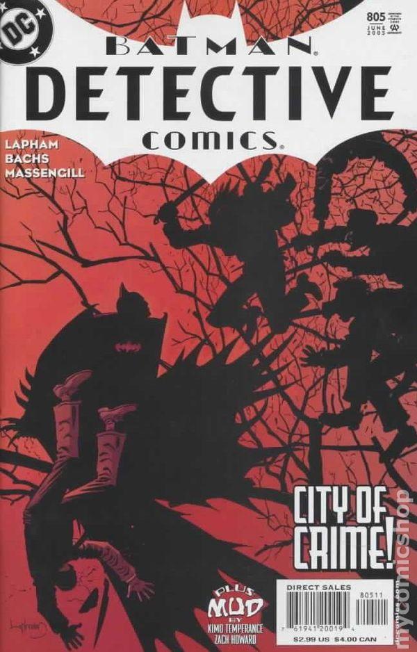 Detective Comics 1937 1st Series 805