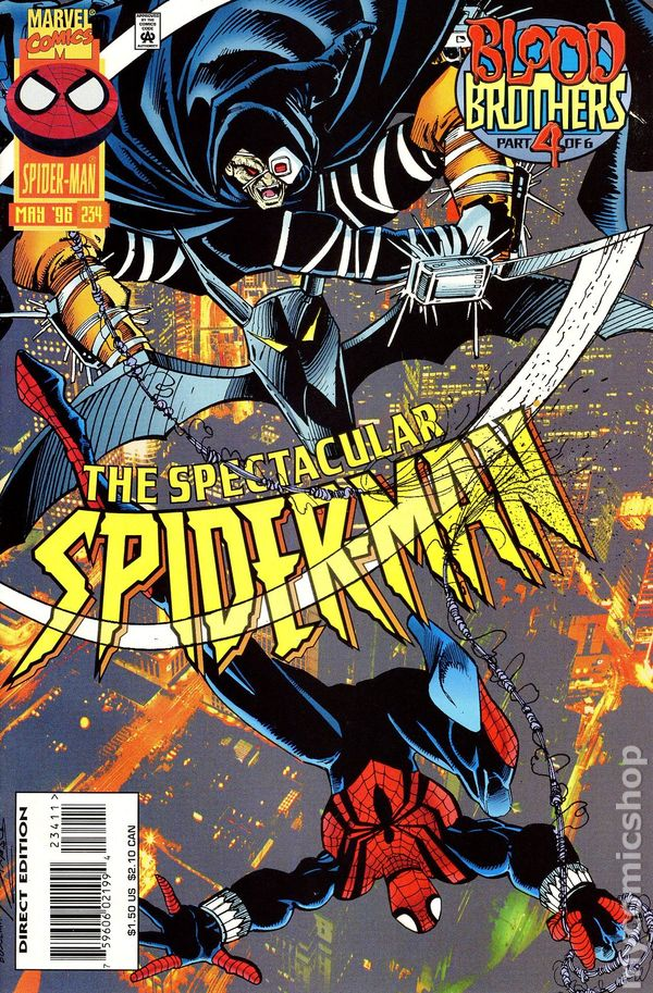 The Spectacular Spider Man Comic Books Issue 234