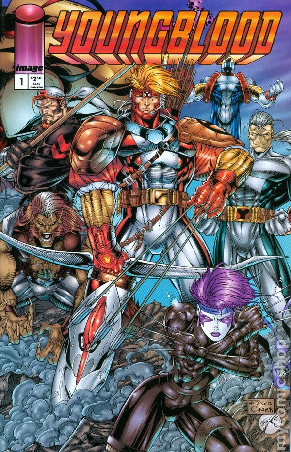 Youngblood (1995 2nd Series) comic books
