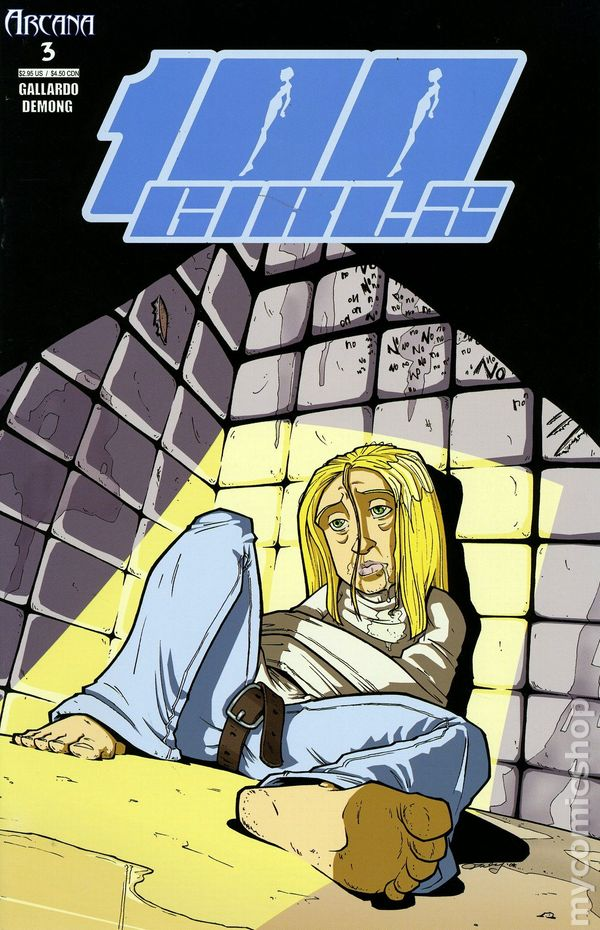 Comic books in &39Straight Jacket&39