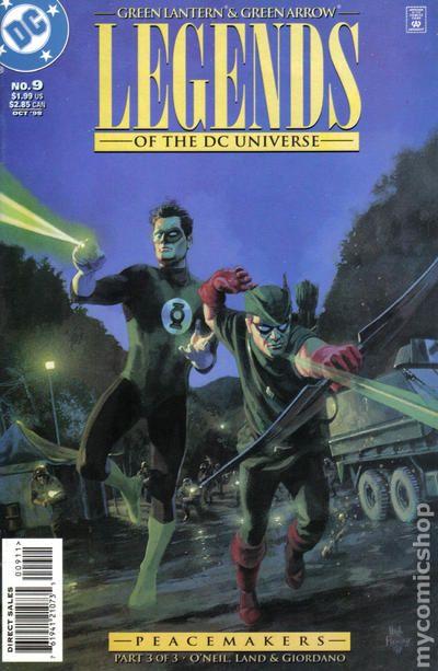 Legends Of The Dc Universe 1998 Comic Books