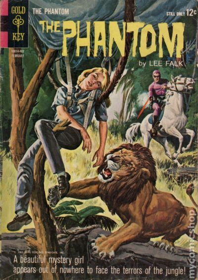phantom 1962 gold keykingcharlton comic books