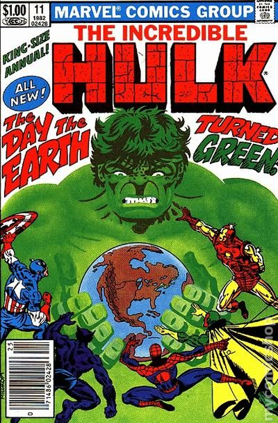 Comic books in spider man incredible hulk 1962 1999 1st series annual 11 fandeluxe Image collections