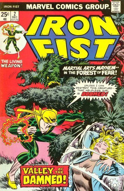 Hot Un Stock >> Iron Fist (1975 1st Series) comic books